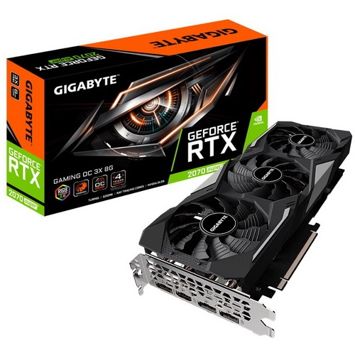 VGA GIGABYTE GEFORCE RTX 2070 SUPER GAMING OC 3X 8G GV-N2070SGAMING OC-8GD