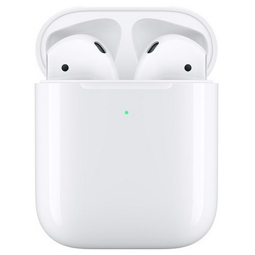 APPLE AIRPODS 2 (2019) MRXJ2ZM/A CASE RICARICABILE WIRELESS