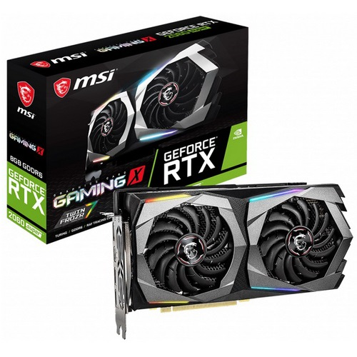 VGA MSI GEFORCE RTX 2060 SUPER GAMING X 8GB GDDR6