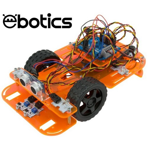 EBOTICS CODE & DRIVE ROBOTICS & PROGRAMMING KIT DIY CAR ROBOT